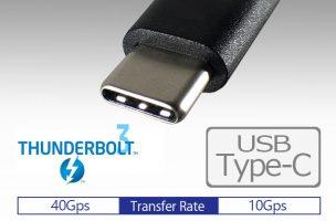 USB Type-CとThunderbolt 3の違いとは?